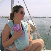 Nošení v létě na lodi